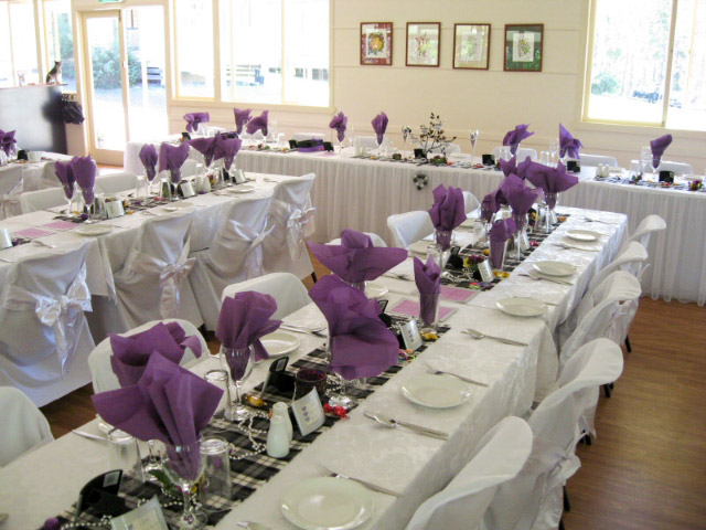 Wedding and reception venue at Stacey's At The Gap